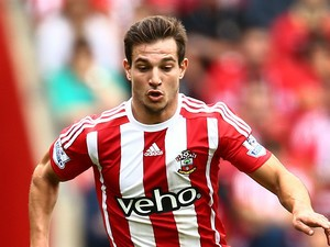 Cedric Soares of Southampton in action during the Barclays Premier League match between Southampton and Everton on August 15, 2015 in Southampton, United Kingdom.