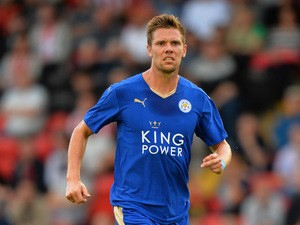 Dean Hammond of Leicester City during the Pre Season Friendlly match between Lincoln City and Leicester City at Sincil Bank Stadium on July 21, 2015