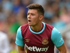 Aaron Cresswell of West Ham United during the Pre Season Friendly match between Peterborough United and West Ham United at London Road Stadium on July 11, 2015 in Peterborough, England.