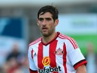 Danny Graham of Sunderland in action during a pre season friendly between Darlington and Sunderland at Heritage Park on July 9, 2015 in Bishop Auckland, England.