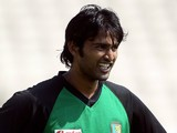 Shahadat Hossain of Bangladesh prepares to bowl in a nets session prior to the 2nd npower Test at Old Trafford on June 3, 2010 in Manchester, England.