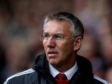 Sheffield United manager Nigel Adkins looks on during the pre season friendly match between Sheffield United and Newcastle United at Bramall Lane on July 26, 2015
