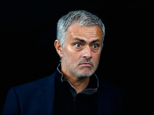 Chelsea manager Jose Mourinho during the Champions League match against Dynamo Kiev on October 20, 2015