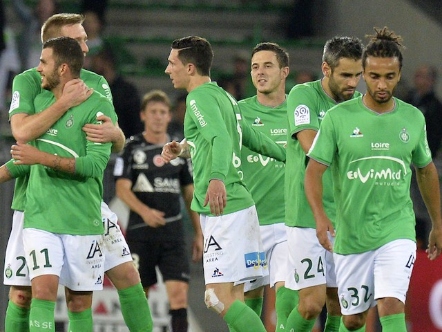 result saint etienne go third with win over reims sports mole. Black Bedroom Furniture Sets. Home Design Ideas