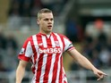 Ryan Shawcross of Stoke City during the Barclays Premier League match between Newcastle United and Stoke City at St James' Park on October 31, 2015 in Newcastle upon Tyne, England.