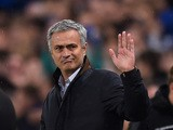 Jose Mourinho the manager of Chelsea gestures during the UEFA Champions League Group G match between Chelsea FC and FC Dynamo Kyiv at Stamford Bridge on November 4, 2015