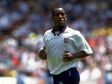 Ian Wright of England in action during the US Cup match against Brazil played in the United States in 1993