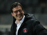 Charlton Athletic interim Head Coach Karel Fraeye looks on prior to the Sky Bet Championship match between Milton Keynes Dons and Charlton Athletic at Stadium MK on November 3, 2015