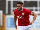 Derrick Williams of Bristol City during the Pre Season Friendly match between Bath City and Bristol City at Twerton Park on July 10, 2015