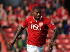 Mark Little of Bristol City during the Sky Bet Championship match between Bristol City and MK Dons at Ashton Gate on October 3, 2015