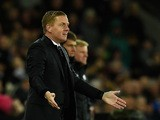 Swansea manager Garry Monk reacts during the Barclays Premier League match between Swansea City and A.F.C. Bournemouth at L