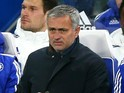 Manager Jose Mourinho of Chelsea on the bench prior to the Barclays Premier League match between Chelsea and A.F.C. Bournemouth at Stamford Bridge on December 5, 2015 in London, England.