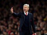 Arsene Wenger manager of Arsenal gives instructions during the Barclays Premier League match between Arsenal and Sunderland at Emirates Stadiumon December 5, 2015
