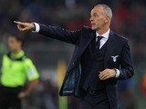 Lazio head coach Stefano Pioli gestures during the Serie A match between SS Lazio and AC Milan at Stadio Olimpico on November 1, 2015