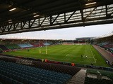 A general view of the ground ahead of the Aviva Premiership match between Harlequins and Wasps at Twickenham Stoop on October 16, 2015