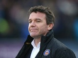 Mike Ford, the Bath director of rugby looks on during the Aviva Premiership match between Bath and Northampton Saints at the Recreation Ground on December 5, 2015