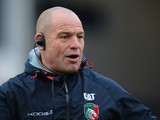 Richard Cockerill, Director of Rugby of Leicester Tigers during the Aviva Premiership match between Worcester Warriors and Leicester Tigers at Sixways Stadium on December 05 2015