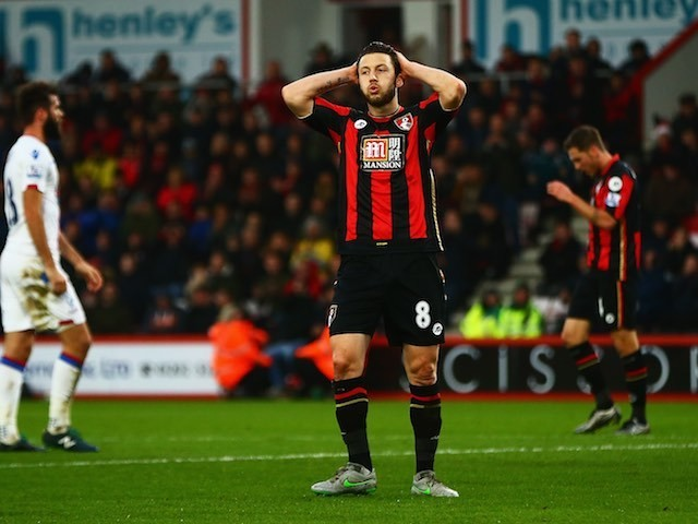 Bournemouth's Harry Arter in action during the game with Crystal Palace on December 26, 2015