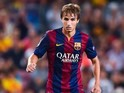 Sergi Samper playing for Barcelona in September 2014