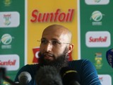 Hashim Amla at a press conference on January 1, 2016