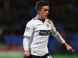 Zach Clough in action for Bolton Wanderers in March 2015