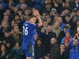 John Terry applauds as he leaves the pitch during the Premier League game between Chelsea and Newcastle United on February 13, 2016