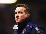 Micky Mellon 'Sue' during the FA Cup game between Shrewsbury Town and Manchester United on February 22, 2016
