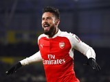 Olivier 'bonjour!' Giroud scores the second during the FA Cup game between Hull City and Arsenal on March 8, 2016