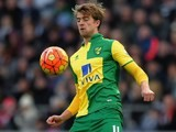 Patrick Bamford in action for Norwich City on March 5, 2016