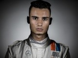 Pascal Wehrlein of Germany and Manor poses for a portrait during day one of F1 winter testing at Circuit de Catalunya on March 1, 2016