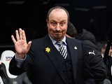 Newcastle United manager Rafael Benitez on March 20, 2016