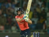 Jos Buttler bats during the World Twenty20 game between England and Sri Lanka on March 26, 2016