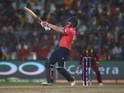 Ben Stokes in action with the bat during the World Twenty20 final between England and the West Indies at Eden Gardens on April 3, 2016
