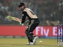 Colin Munro in action with the bat during the World Twenty20 semi-final between England and New Zealand on March 30, 2016