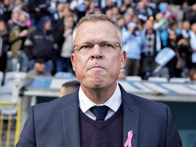 Jan Andersson before the match between Malmo FF and IFK Norrkoping at Swedbank Stadion on October 31, 2015