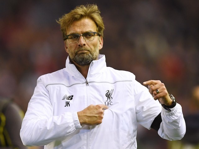 Jurgen Norbert Klopp knows where his loyalties lie during the Europa League quarter-final between Liverpool and Borussia Dortmund on April 14, 2016