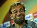 Liverpool's German coach Jurgen Klopp at a press conference at El Madrigal stadium in Villarreal on April 27, 2016