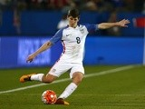 Emerson Hyndman in action for the USA on March 29, 2016