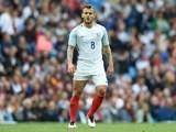 Jack Wilshere in action during the international friendly between England and Turkey on May 22, 2016