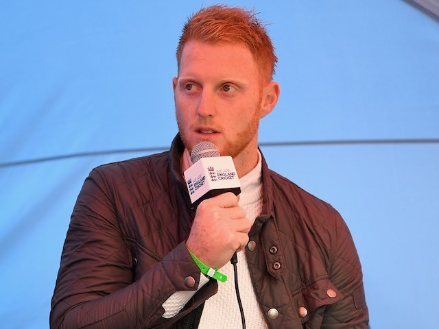 Ben Stokes speaks to adoring fans at a Q&A session on May 28, 2016