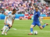 Ivan Perisic scores during the Euro 2016 Group D match between Czech Republic and Croatia on July 17, 2016