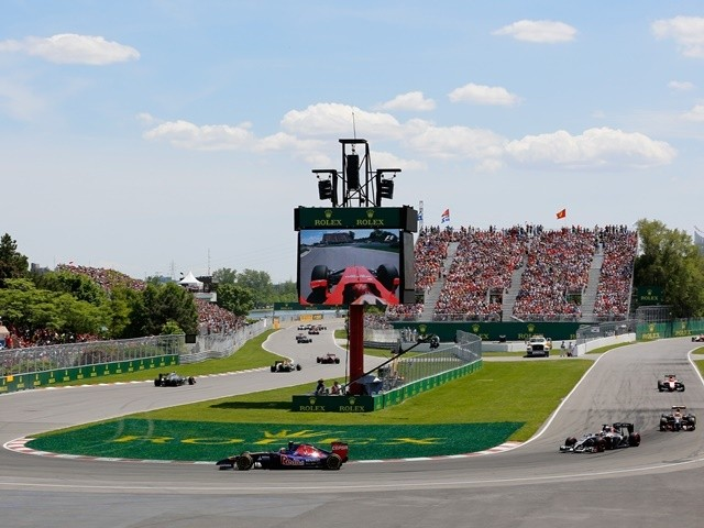 A general view during the Canadian Formula One Grand Prix at Circuit Gilles Villeneuve on June 8, 2014