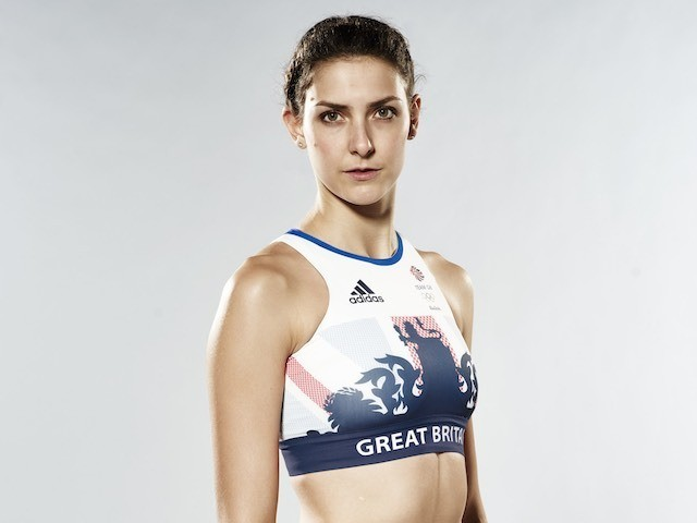 Isobel Pooley wearing the Team GB kit for Rio 2016