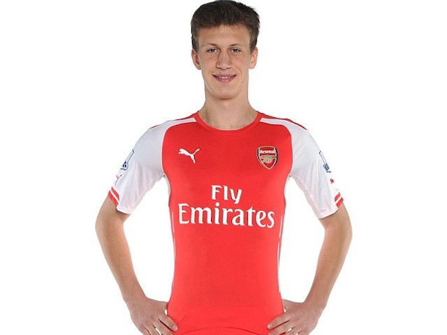 Krystian Bielik of Arsenal