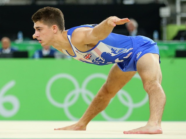 Max Whitlock in action at the Rio Olympics on August 14, 2016