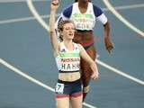 Sophie Hahn wins gold for ParalympicsGB in the women's T38 100m final at the Rio Paralympics on September 9, 2016