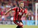 Jack Wilshere in action for Bournemouth on September 24, 2016