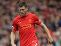 James Milner of Liverpool during the Premier League clash with Hull City at Anfield on September 24, 2016