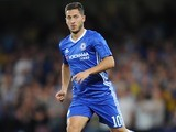 Eden Hazard in action for Chelsea on August 23, 2016