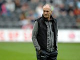 Swansea manager Francesco Guidolin before the Premier League match between Swansea City and Chelsea at the Liberty Stadium on September 11, 2016